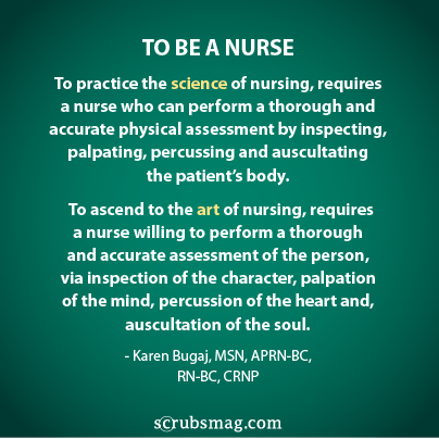 To Be A Nurse...