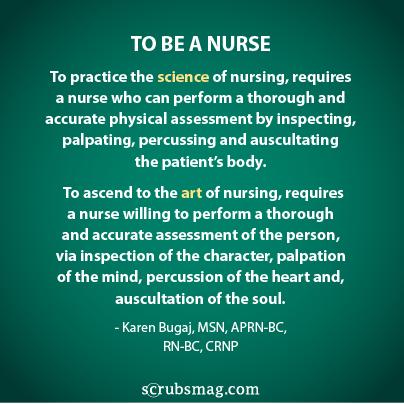 To Be A Nurse...